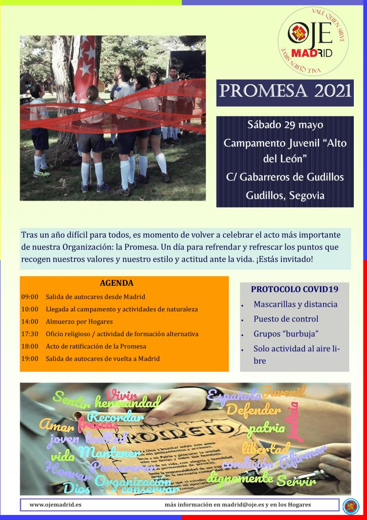 Convocatoria Promesa 2021